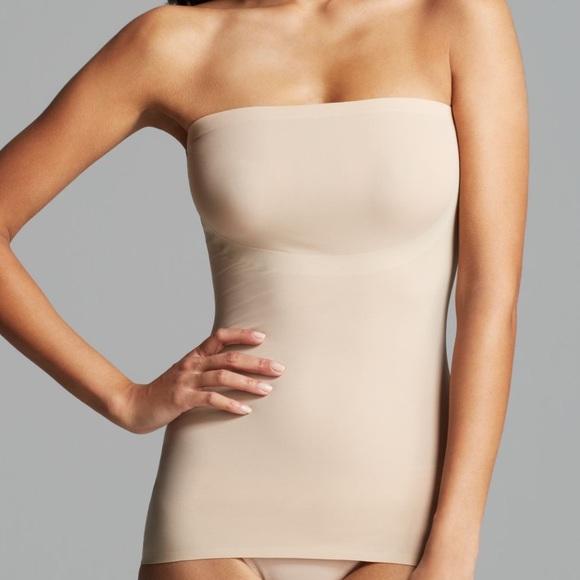 272941db06d27 SPANX Nude Hide   Sleek Strapless Camisole